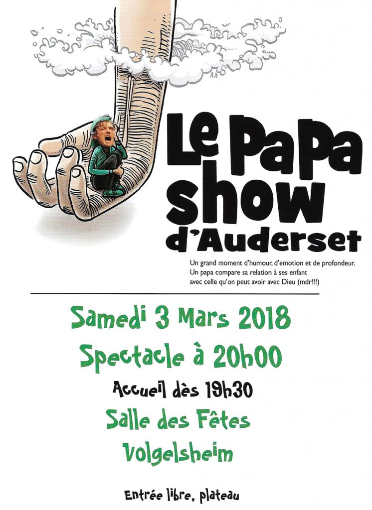 papa show auderset couple