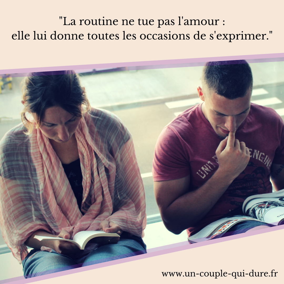 routine grand amour vie de couple